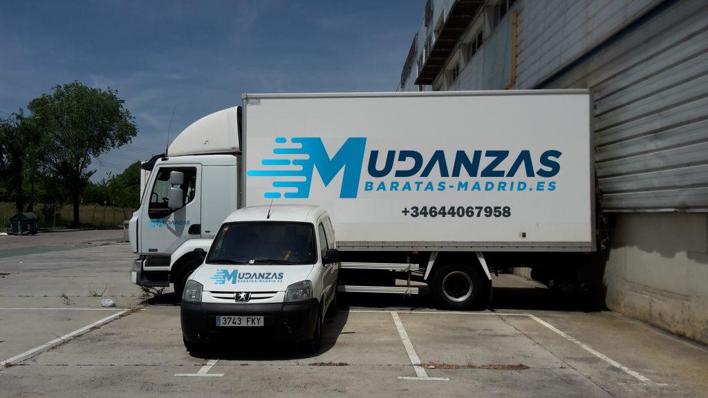 camion de mudanzas