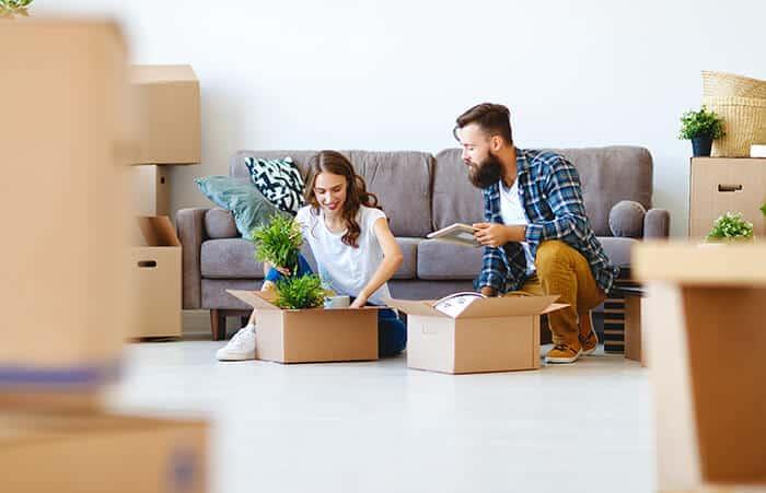 Vender artículos antes de mudarte